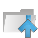 Folder-arrow-up icon