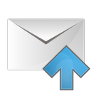 mail arrow up icon