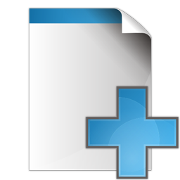 Document add icon