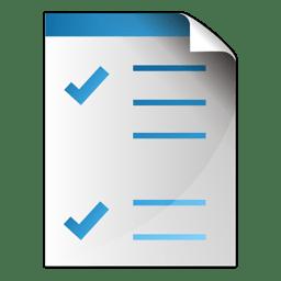 Document checkbox icon