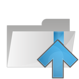 folder arrow up icon