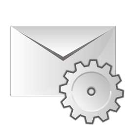 Mail settings icon