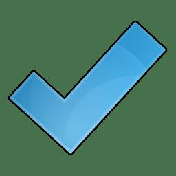 Symbol check icon