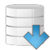 Database-arrow-down icon