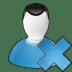 User-delete icon
