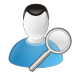 User-search icon