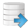 Database-arrow-right icon