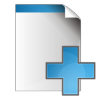 Document-add icon