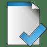 Document-check icon