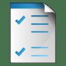 Document-checkbox icon