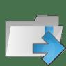 Folder-arrow-right icon