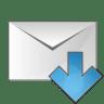 Mail-arrow-down icon