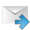 Mail-arrow-right icon