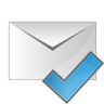 Mail-check icon