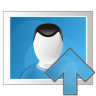 Picture-arrow-up icon