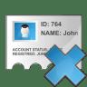 Profile-delete icon