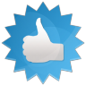 Thumbs-up icon