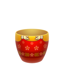 red matreshka lower part icon