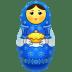 Blue-matreshka icon