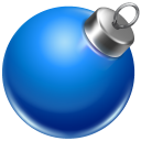Ball blue 2 icon