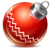 Ball-red-1 icon