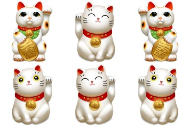 Maneki Neko Icons