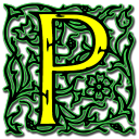 letter p icon
