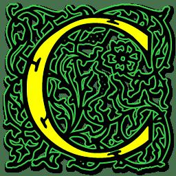 letter c icon