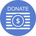 Election Donate Outline icon