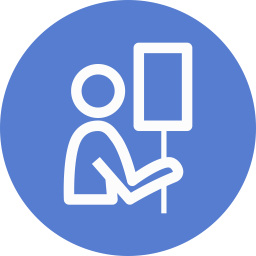 Election Billboard Outline icon