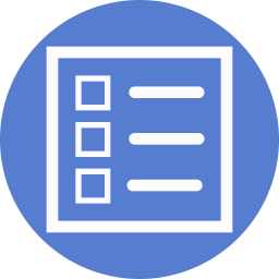 Election Polling Board Outline icon