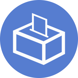 Election Polling Box 01 Outline icon