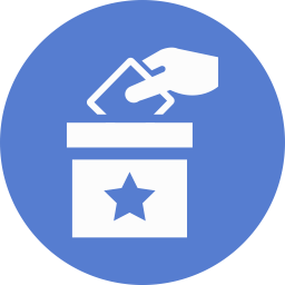 Election Polling Box icon