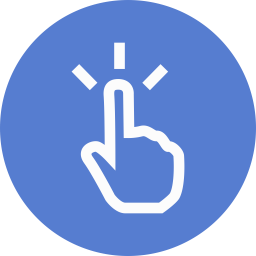 Election Polling Finger Outline icon