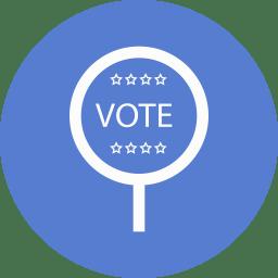 Election Vote 2 Outline icon