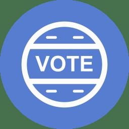 Election Vote Outline icon