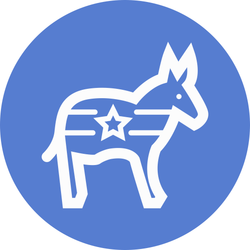 Election-Donkey-Outline icon