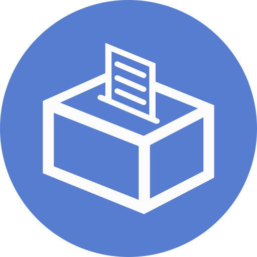 Election-Polling-Box-04-Outline icon