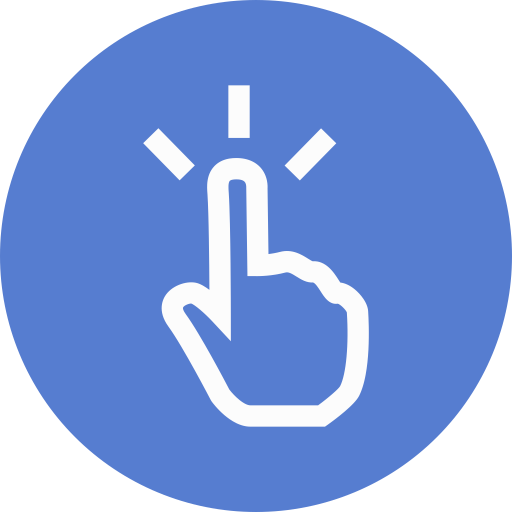 Election-Polling-Finger-Outline icon