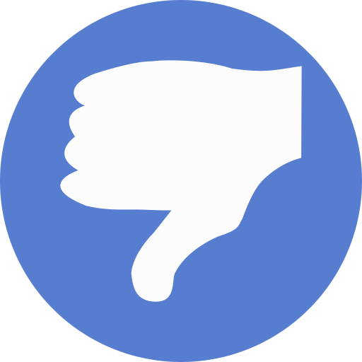 Election-Thumbs-Down icon