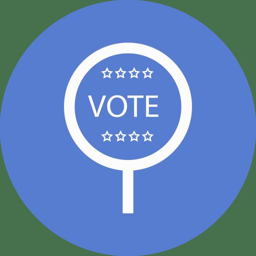 Election-Vote-2-Outline icon