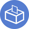 Election-Polling-Box-01-Outline icon