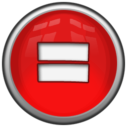 Math equal icon