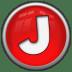 Letter-J icon