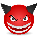Devil-laught icon