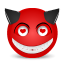 Devil love icon