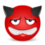 devil sad icon
