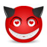 Devil-love icon