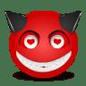 Devil-love icon