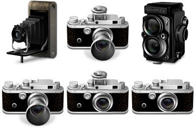 Classic Cameras Icons